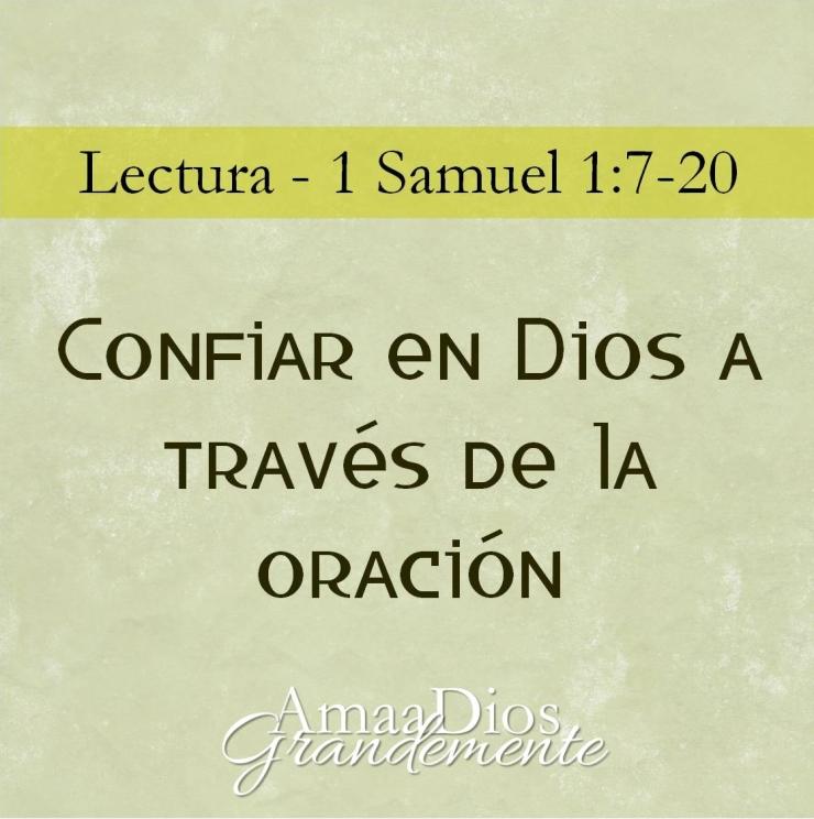confiar en Dios a través de la oración