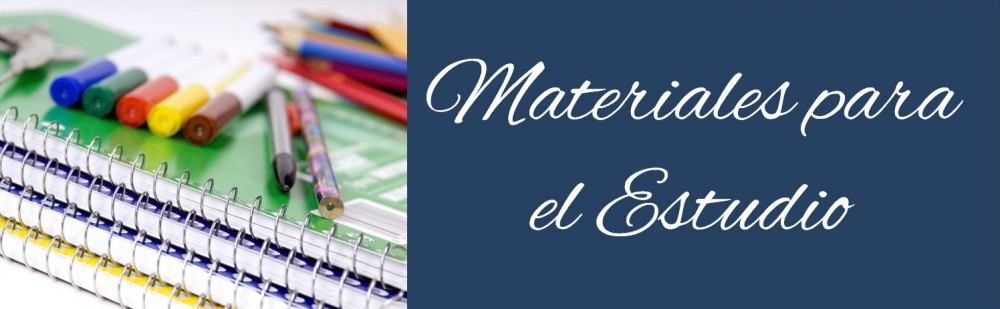 Materiales para el estudio
