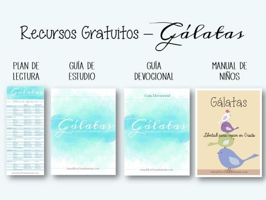 recusros gratis gálatas