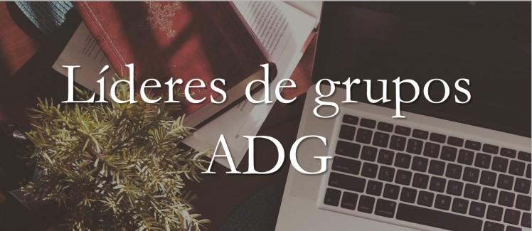 líderes de grupos ADG