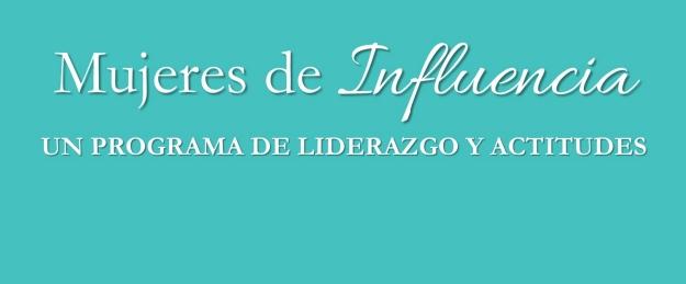 mujeres de influencia banner
